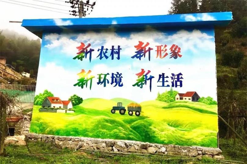墙绘在文华传播中扮演着重要角色