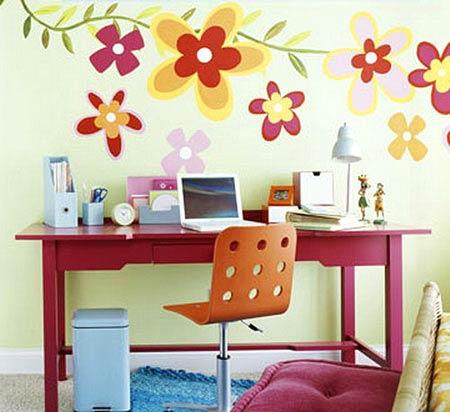 幼儿园的墙体彩绘应该在配色上有什么讲究?