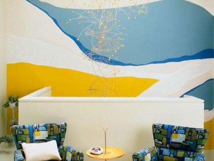 如何确定各个房间的墙绘风格