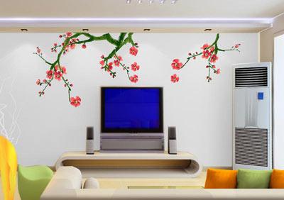 电视背景手绘墙应该注意的几个原则
