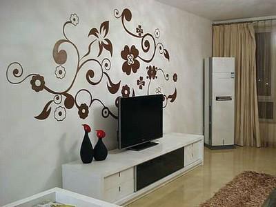 墙体彩绘该如何搭配家里的各个空间呢?