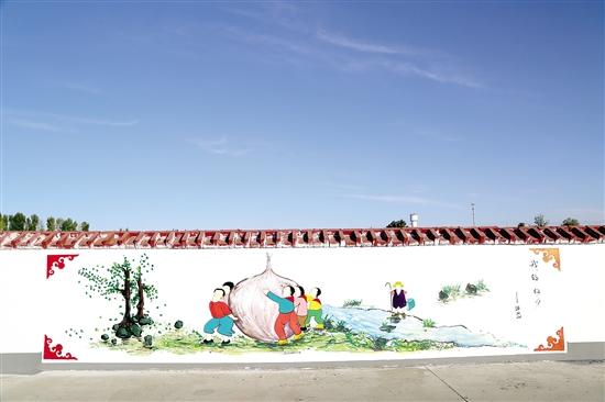 南昌墙上绘画,南昌美丽乡村墙体彩绘,南昌墙绘墙体彩绘,南昌3d画墙绘