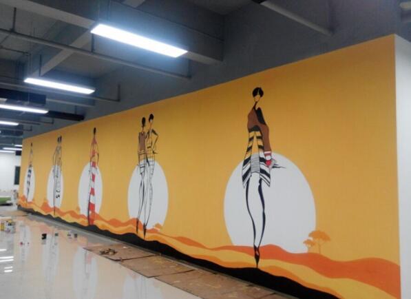 南昌背景墙,南昌墙体壁画,南昌外墙墙绘,南昌壁画