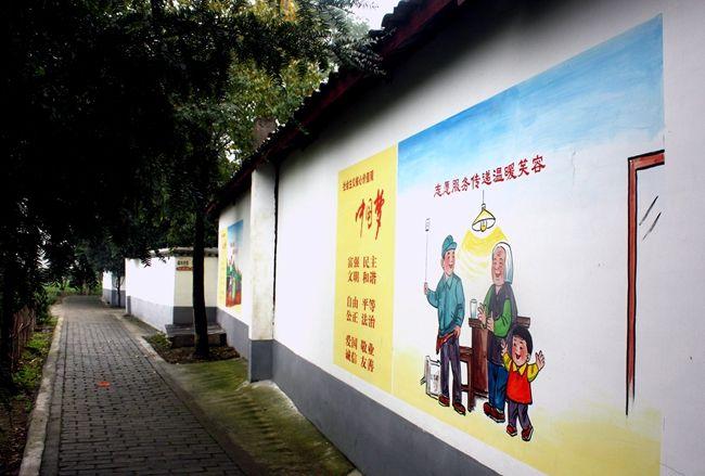 南昌墙绘,南昌手绘壁画,南昌手工绘画,南昌喷绘墙体广告